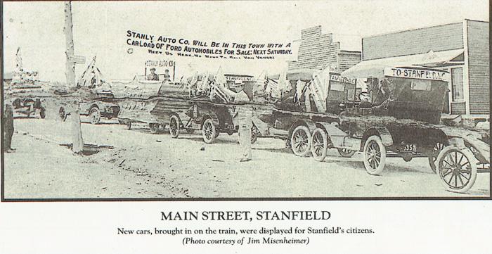 Main Street, Stanfield