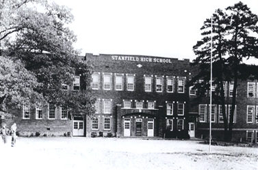 Vintage picture of Stanfield High School