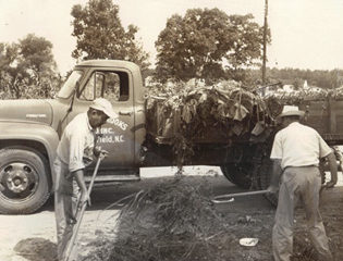 Vintage picture of Community Clean-Up